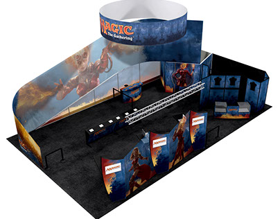 Magic The Gathering – 2013 PAX Exhibit Booth