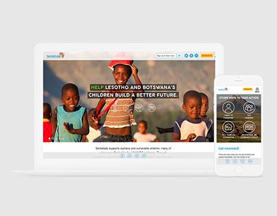 Sentebale - WordPress Website