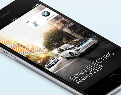 BMW i Born Electric Analyzer