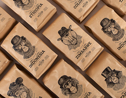 The Mood Coffee Packaging