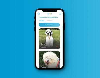 Spot   App Design