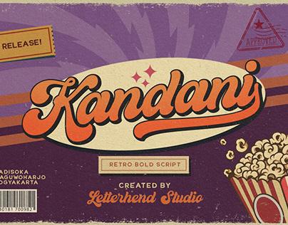 Kandani - Retro Bold Script Font