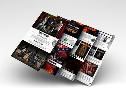 Maplerun | Press Sheet Design