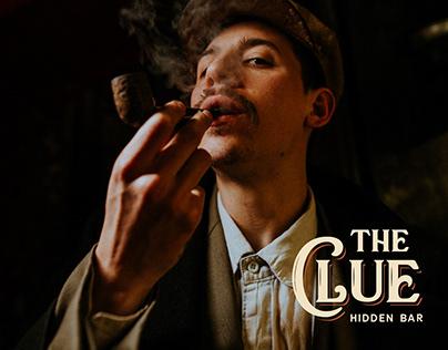 The Clue Hidden Bar - Dirección de arte y branding