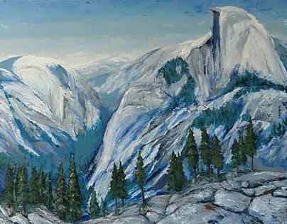 """Glacier Point at Yosemite, 2013"""