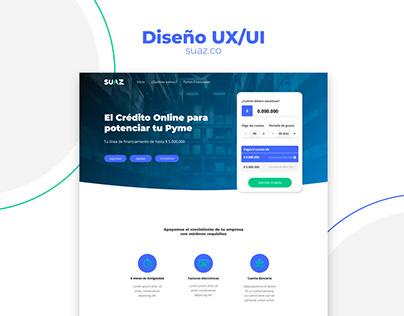 Diseño UX/UI - Suaz Colombia