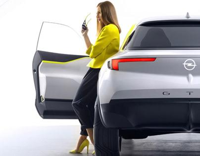 Opel Gt Concept 2016 Color Trim On Behance
