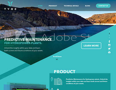 Web design for Software Company