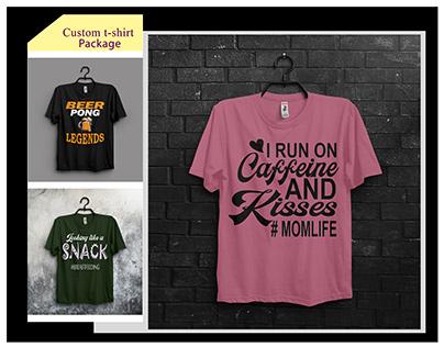 Custom T-shirt Design Bundle.