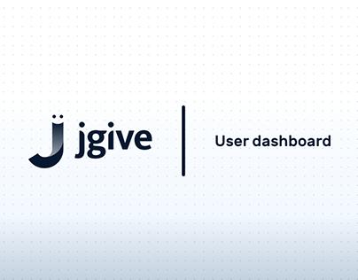 Jgive user area