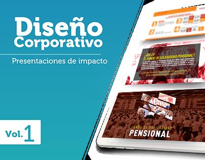 Vol. 1 Diseño Corporativo - Presentaciones de Impacto