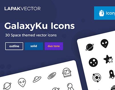 GalaxyKu Universe Icons