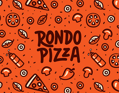 "Branding for pizza food truck ""Rondo Pizza"""