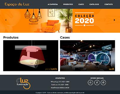 Site Responsivo Bootstrap - Espaço da Luz