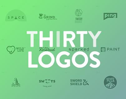 THIRTY LOGOS 2017 - DIGITAL NOMAD edition