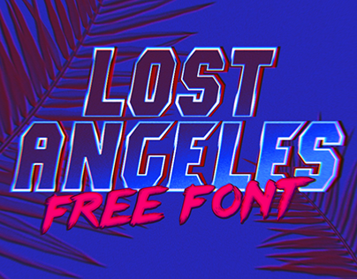 Lost Angeles (FREE FONT)