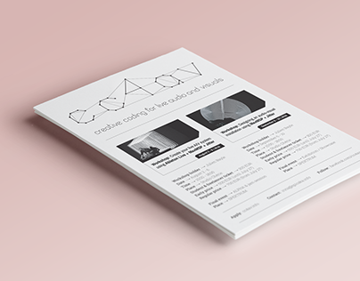 CC4AV flyer—graphic design