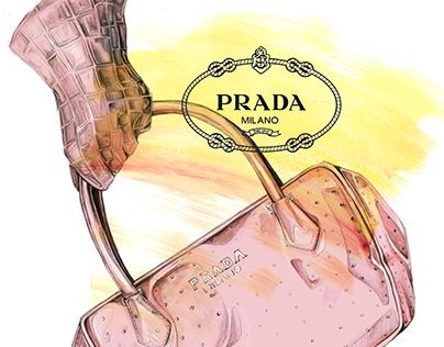 Prada Accessory Mock Ad Campaign