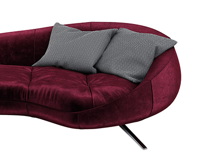 Boe Desirre Sofa 3d models