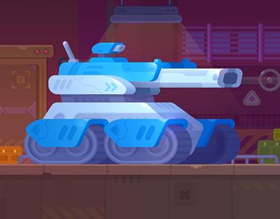 Tank Stars - Siedge