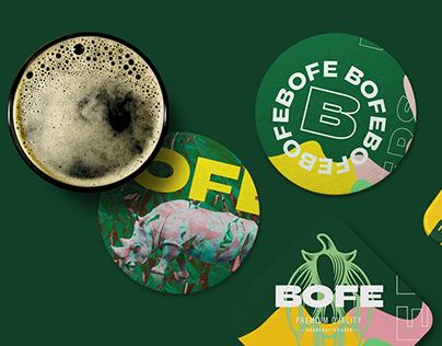 Bofe Beer Branding & Packaging Design