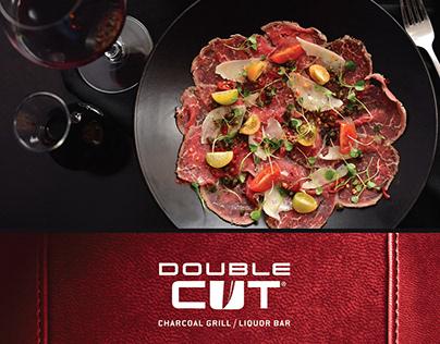 Double Cut Charcoal Grill/Liquor Bar Poster