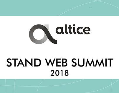 Altice- Stand Web Summit 2018