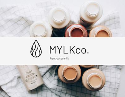 MYLKco ❘ Landing page redesign concept