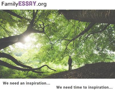 Familyessay inspiration
