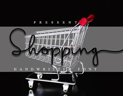 Shopping Font | Best Modern Font