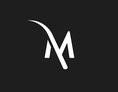 THE M logo design