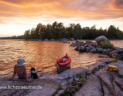 Schweden, Malexander im Frühjahr und Sommer