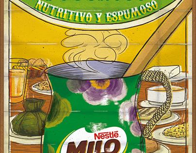 """Desayuno Poderoso"" Milo"