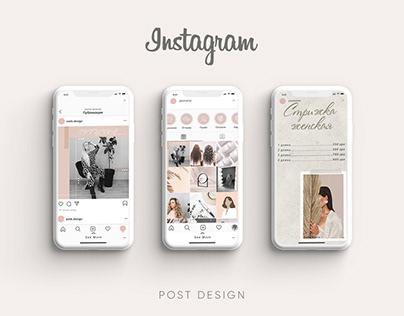 instagram design