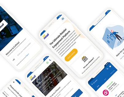 EzRetail | UI/UX design