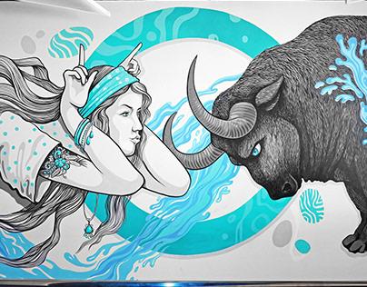 Branding Mural