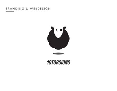 Branding & Webdesign - 10TORSIONS
