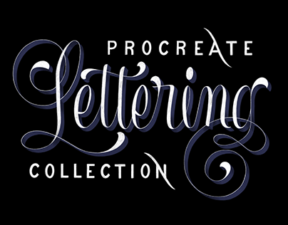 Procreate Lettering Collection