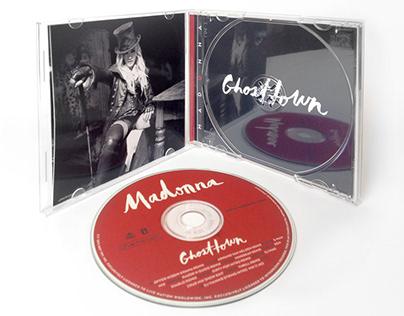CD EP Design: Madonna - Ghosttown Remixes