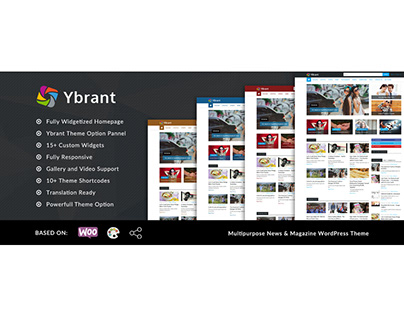 Ybrant WordPress Theme