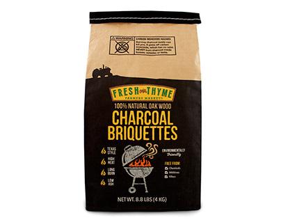Fresh Thyme Charcoal Briquettes