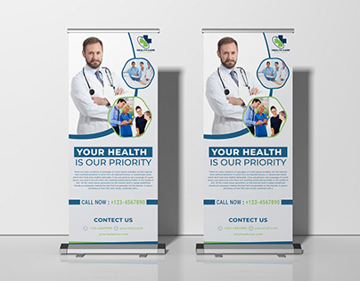 Stand-up Banner Design