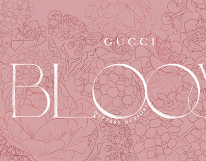 GUCCI BLOOM Animated Logo and Illustration