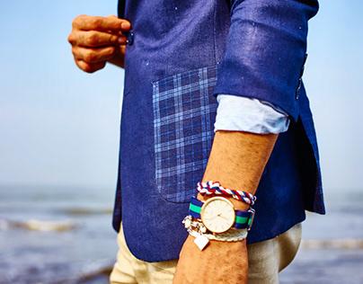 Linen Jacketing - Fashion/Textiles/Styling