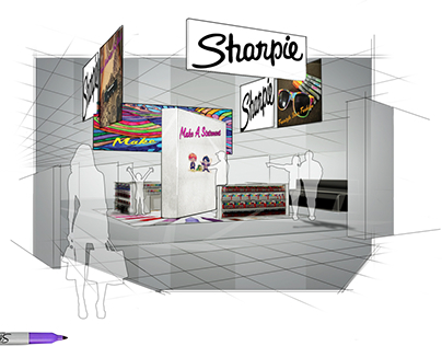 Sharpie Store in Store