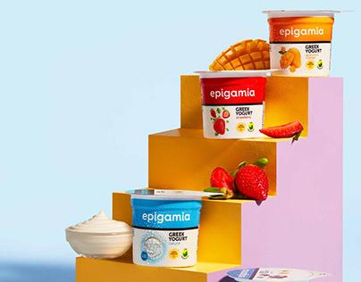 Greek yogurts from epigamia