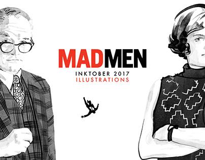 Madmen portrait illustrations