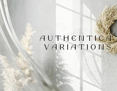Authentica Variations