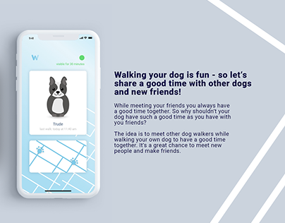 Walk the Dog App Concept