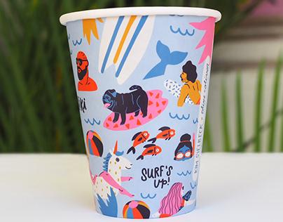 Olive and Oliver cup design